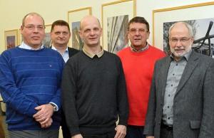 Thomas Schicktanz, Horst Kalthoff, Stefan ZImkeit, Arnold Stecheisen, Wolfgang Große Brömer.