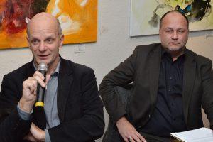 Stefan Zimkeit MdL und Ralf Dammann (VRR).