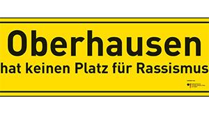 Oberhausen hat keine Platz für Rassismus