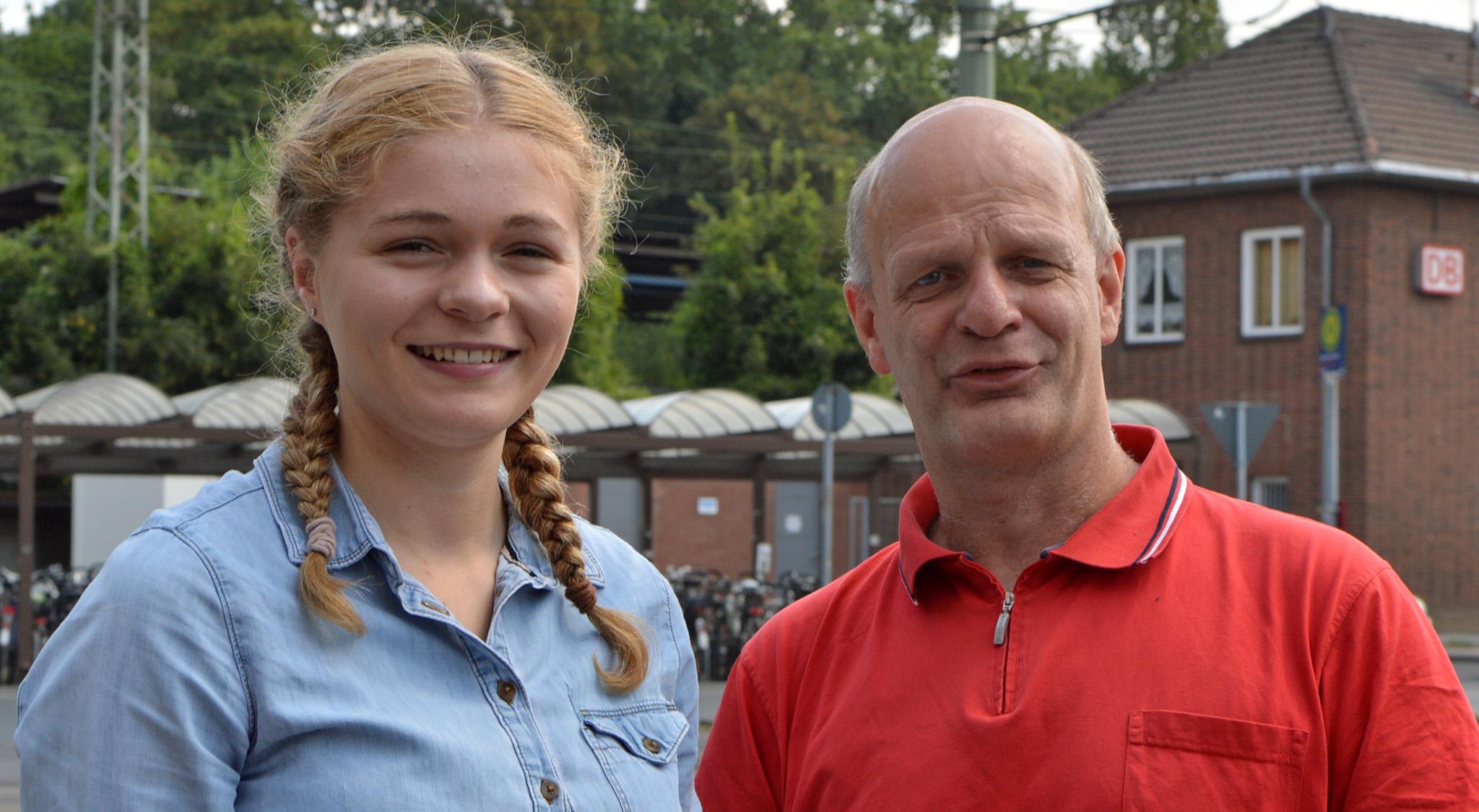 Katharina Schwerdt und Stefan Zimkeit