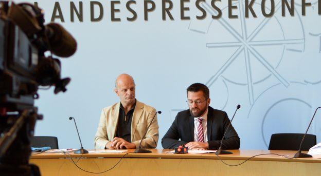 Zimkeit und Kutschaty: Pressekonferenz