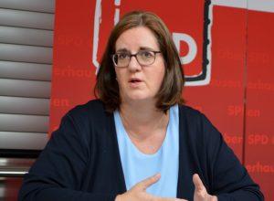 Kerstin Griese MdB, parlamentarische Staatssekretärin im Bundesarbeitsministerium